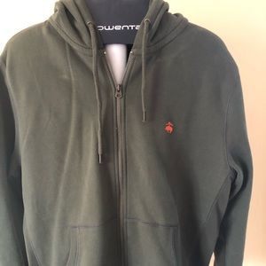 Brooks Brothers Full Zip Hooded Sweatshirt
